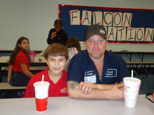 Justin Stephens and Ethan Jones-4th Grade