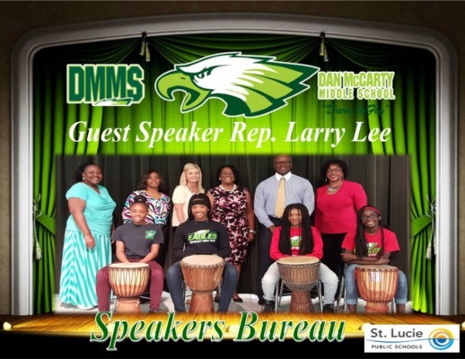 speakers bureau DMS 1