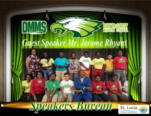 speakers bureau DMS 3