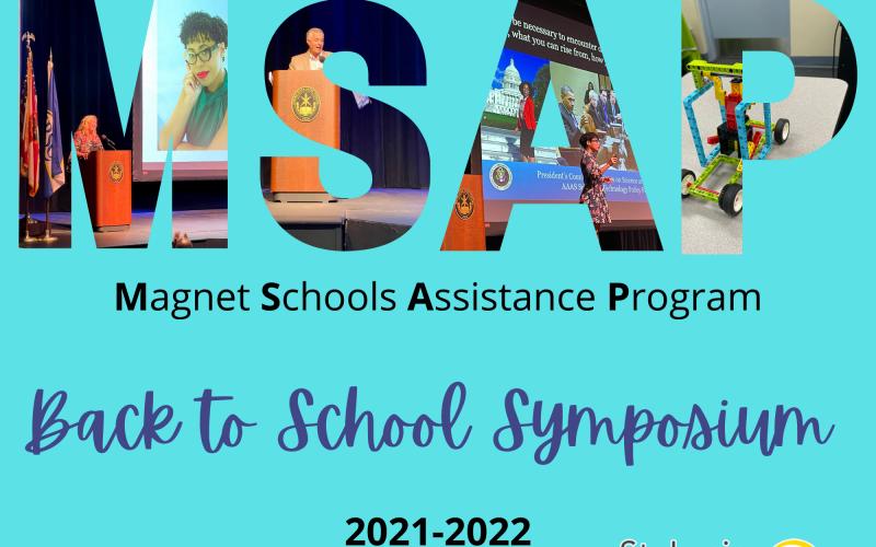 Introduction slide for MSAP Symposium
