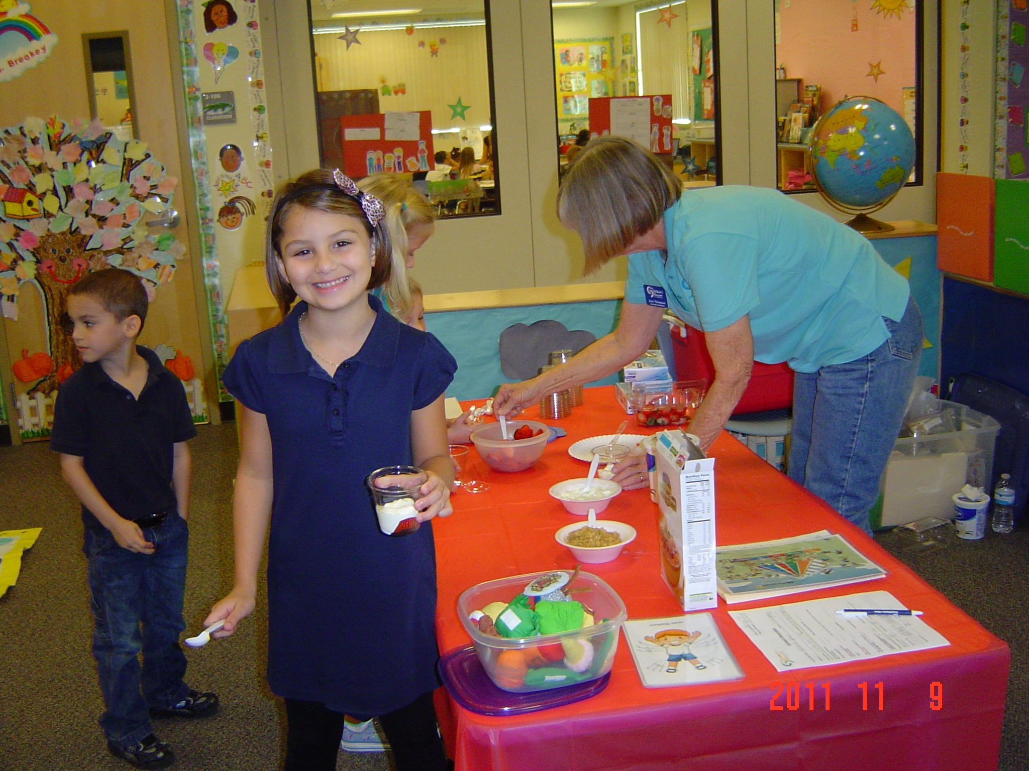 Allapattah Flats students learn about healthy eating
