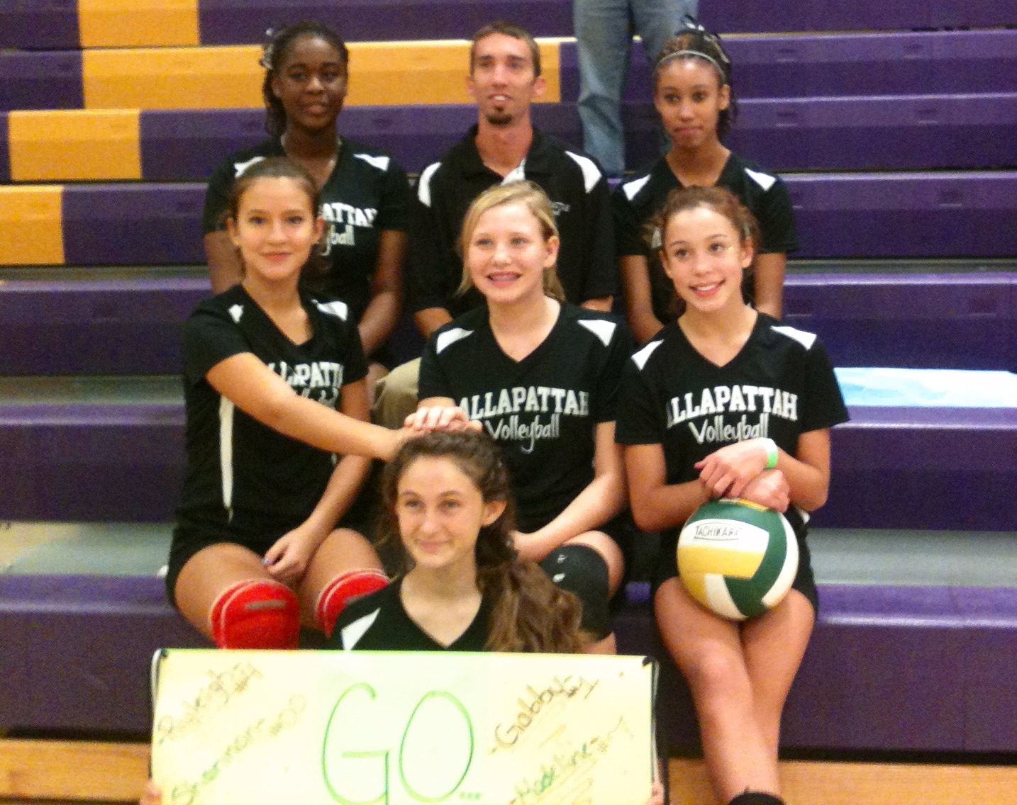 Allapattah Flats team places second in volleyball tournament