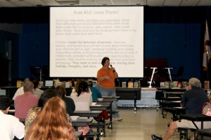 Read to Succeed event held at Mariposa Elementary