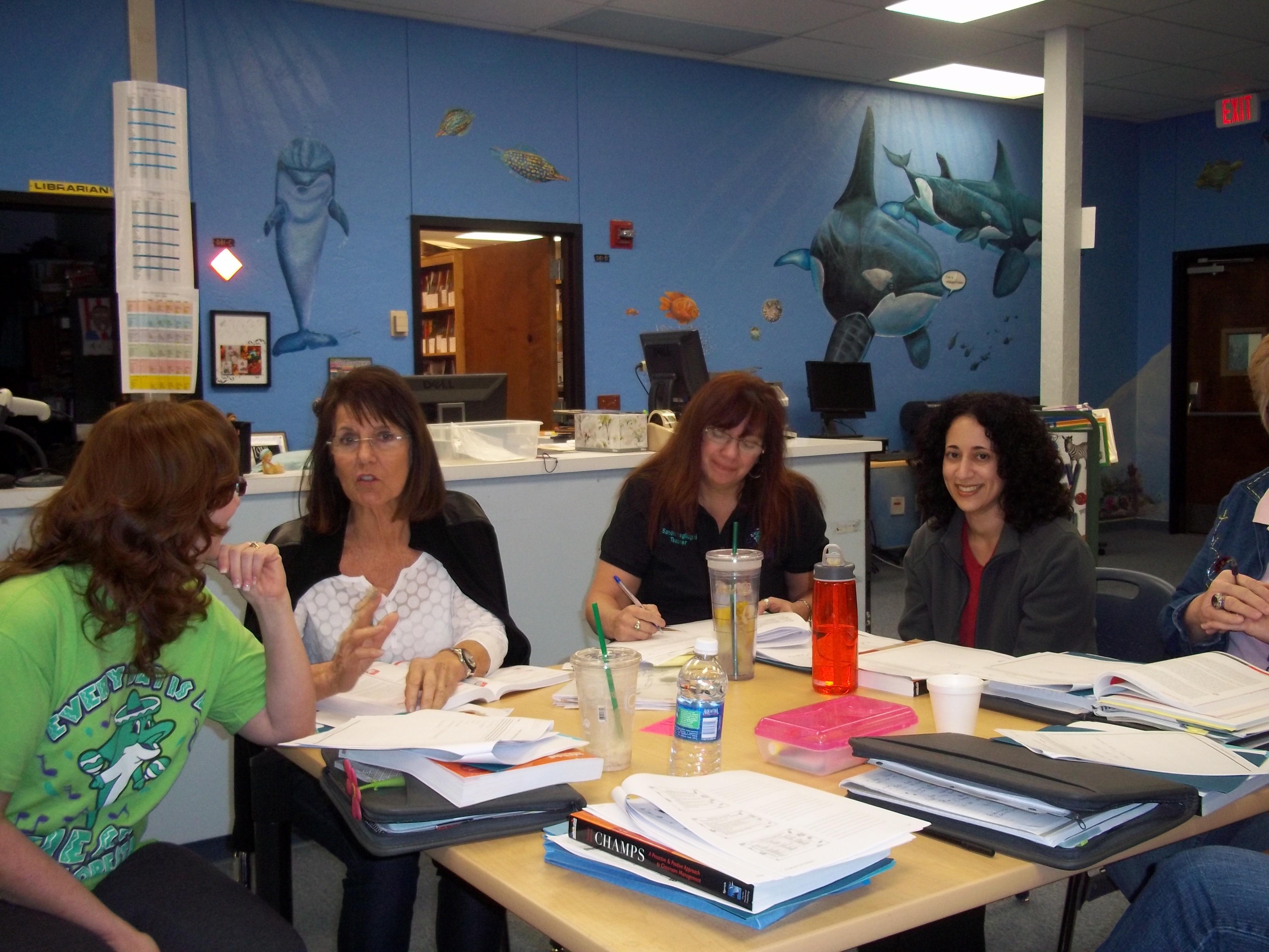 Floresta Elementary teachers Are CHAMPS!