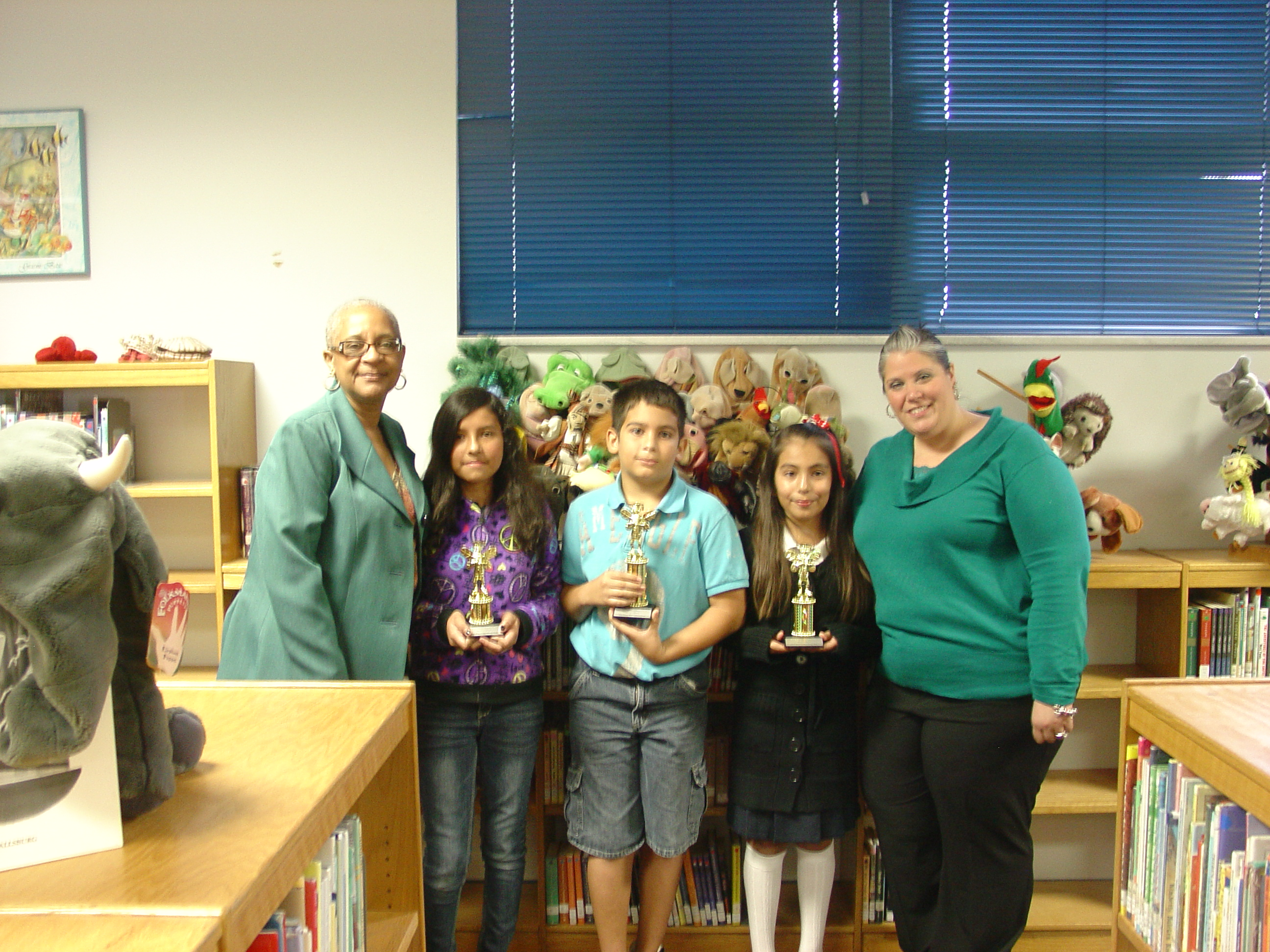St. Lucie Elementary holds spelling bee