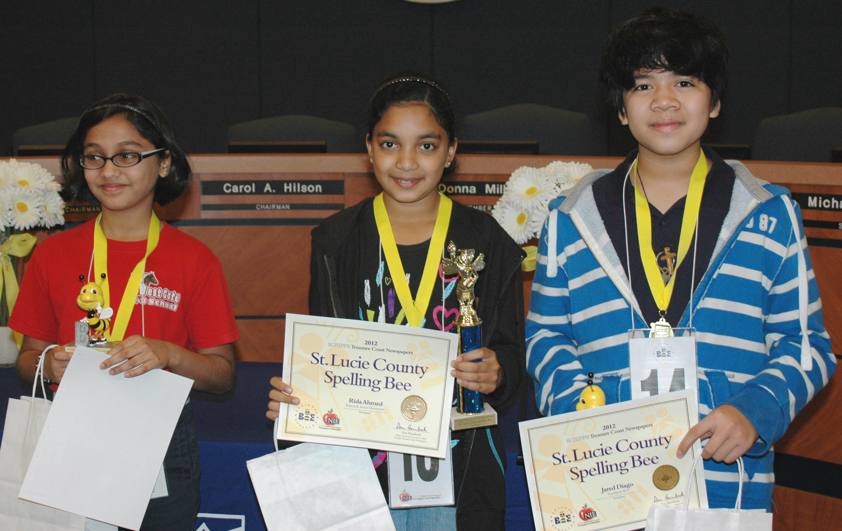 Top speller is champion for second straight year