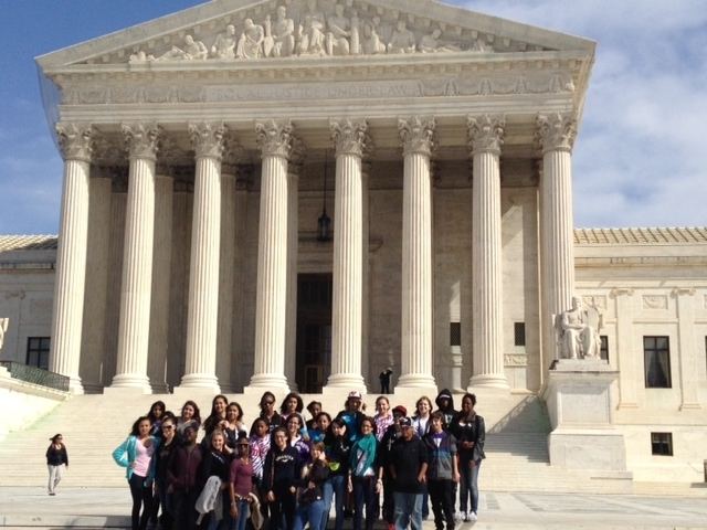 Allapattah Flats students visit nation's capital