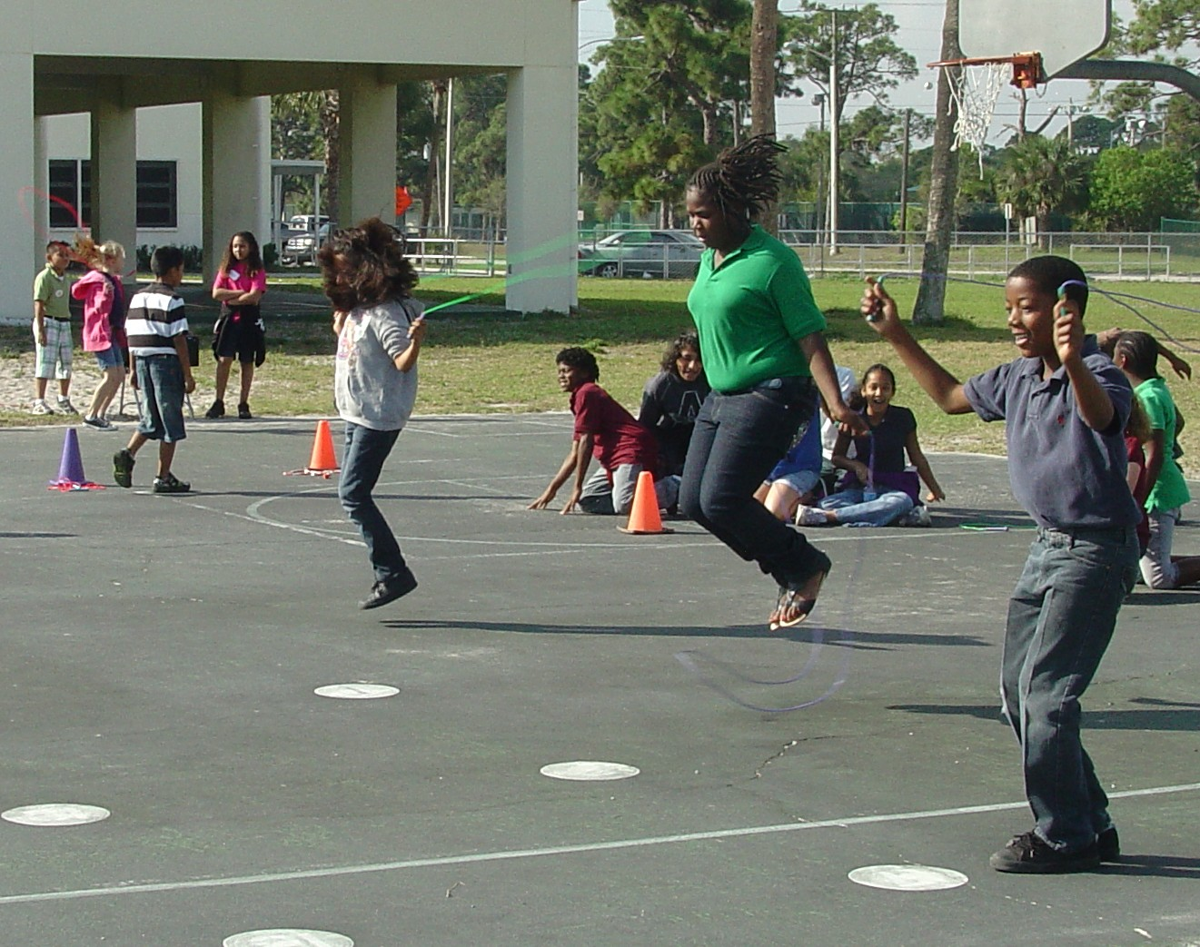 "Students at St. Lucie Elementary ""jump"" to save lives"