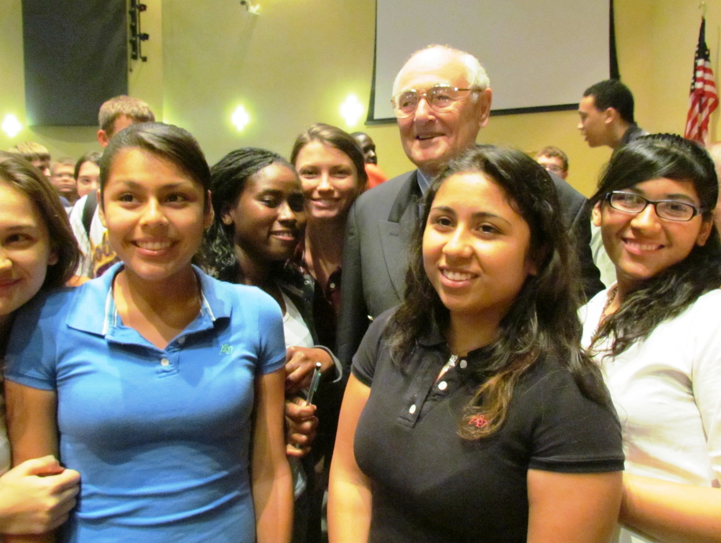 Holocaust survivor shares story with Fort Pierce Central students