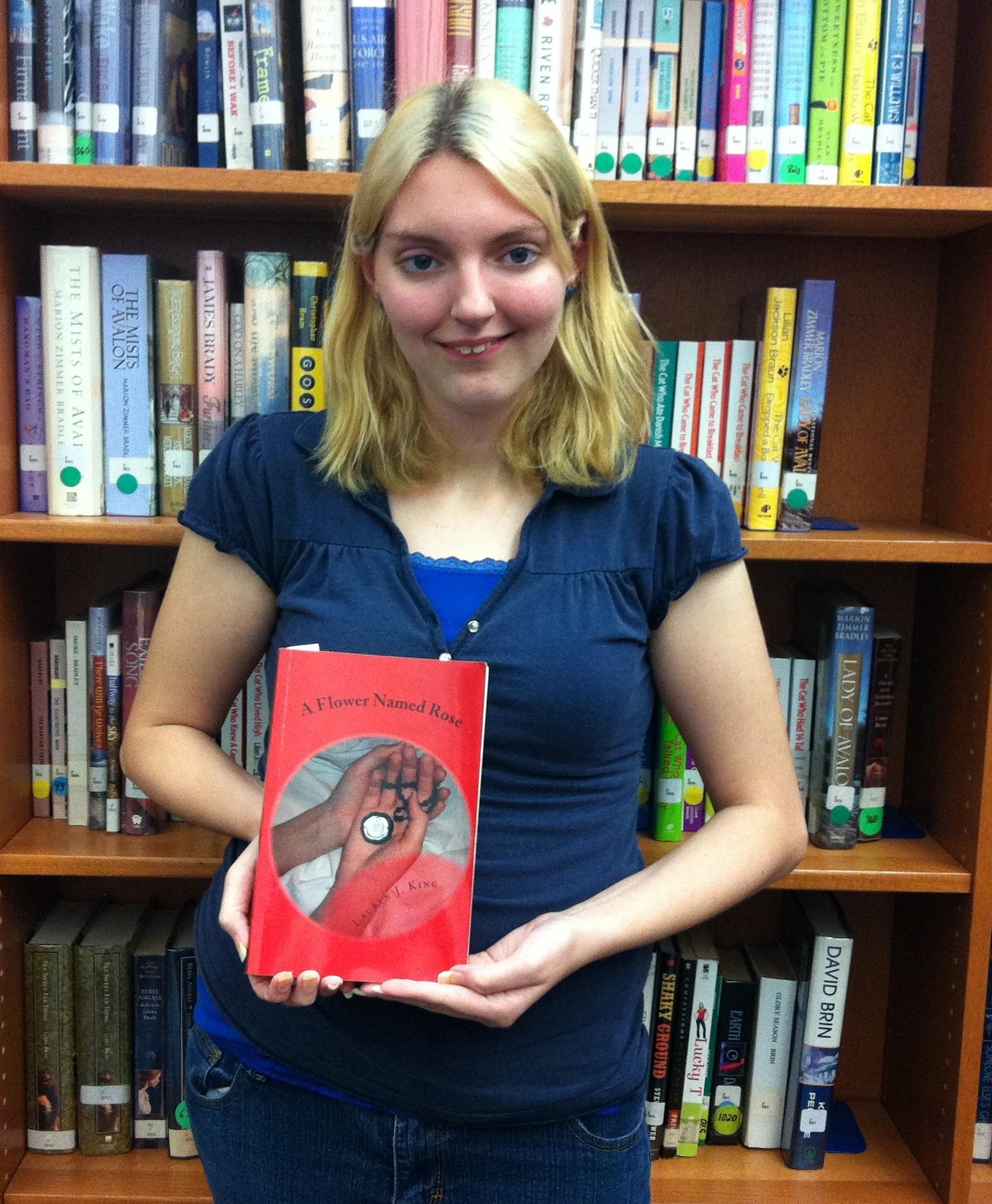Centennial junior publishes novel
