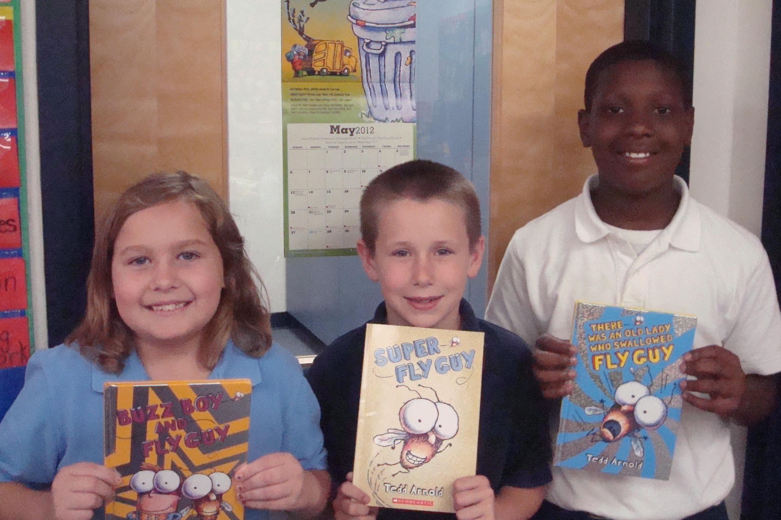 Third graders' favorite book features unsavory character