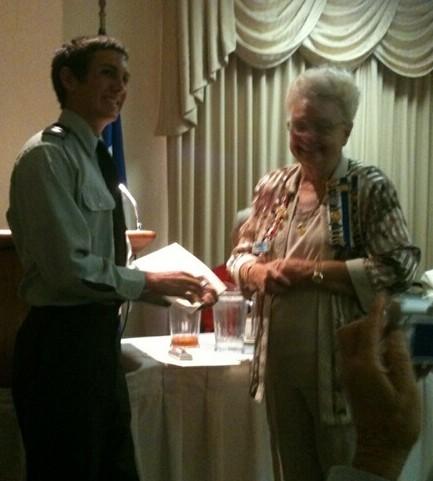 Jaguar Cadet earns DAR scholarship