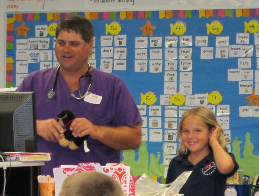 F. K. Sweet students learn pet care basics
