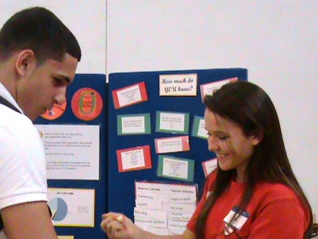 St. Lucie West Centennial nursing program hosts annual student health fair