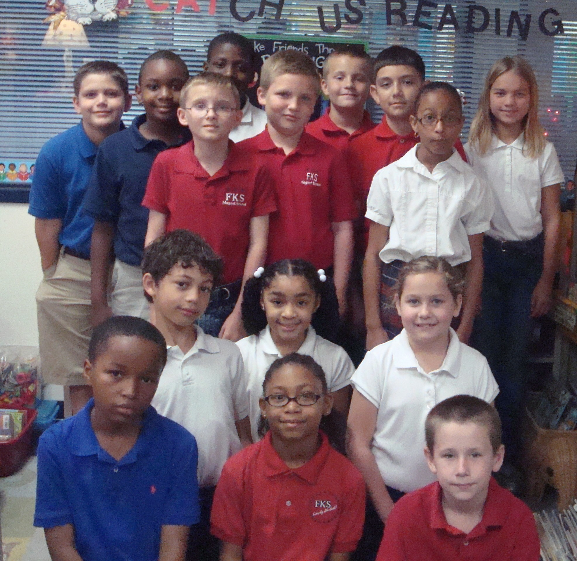 Third graders rack up reading