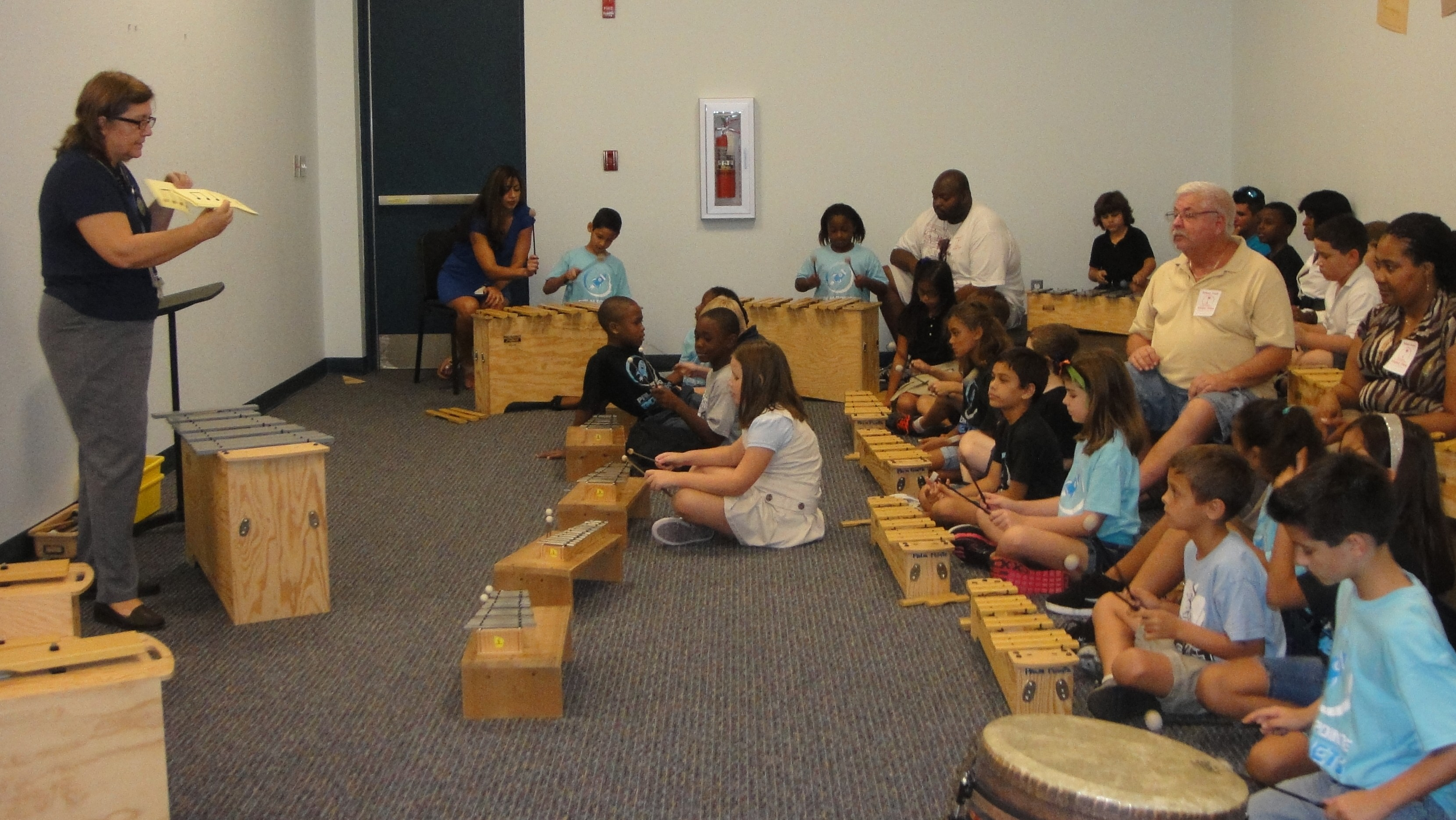 Families enjoy annual music open house at Palm Pointe
