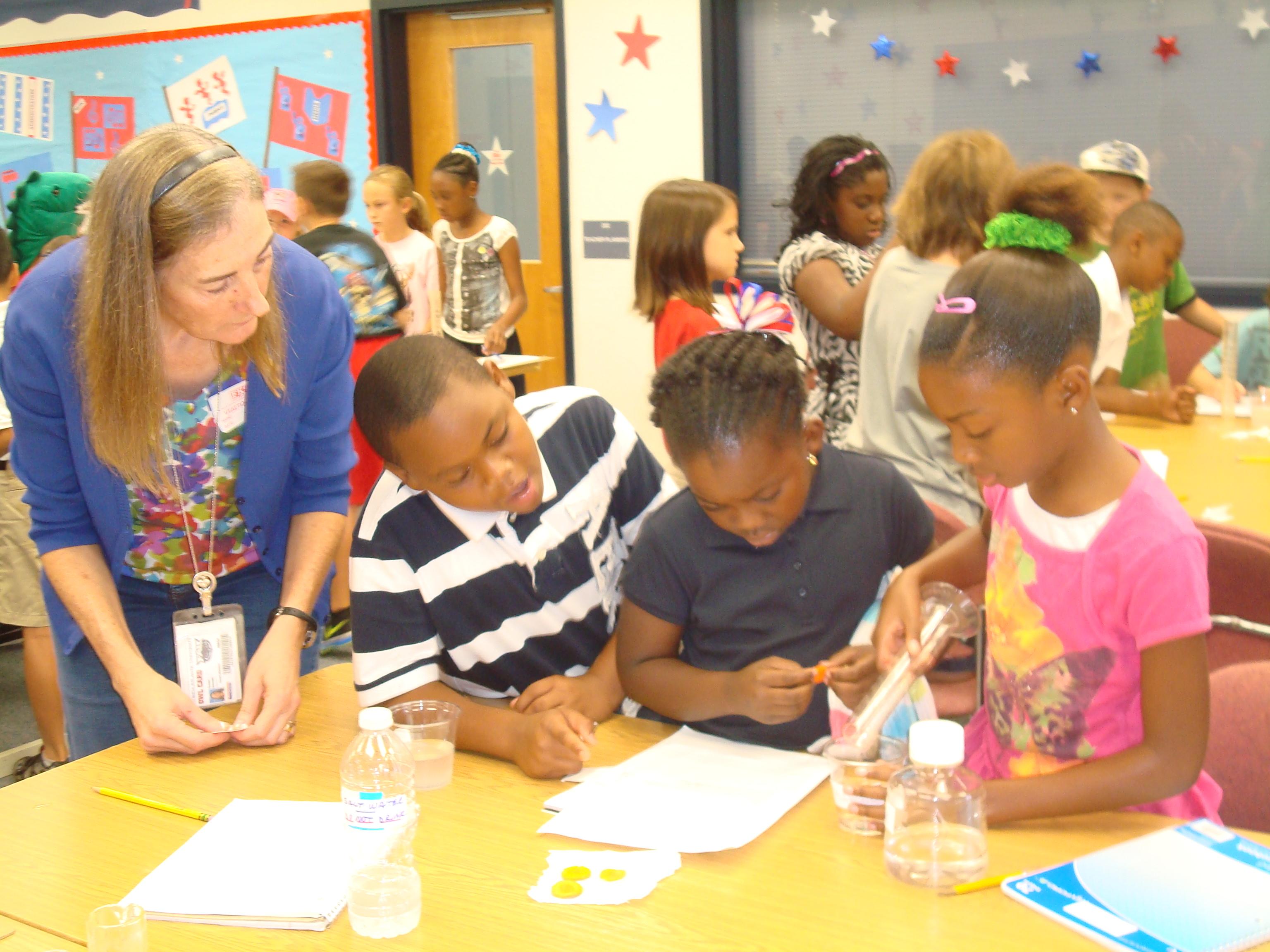 F. K. Sweet third graders use the scientific method