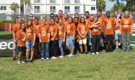 Port St. Lucie High cadets help with recent triathlon event