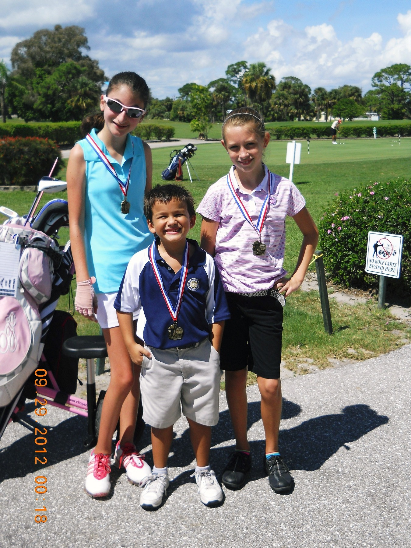 Local school golf program students excel at tournament