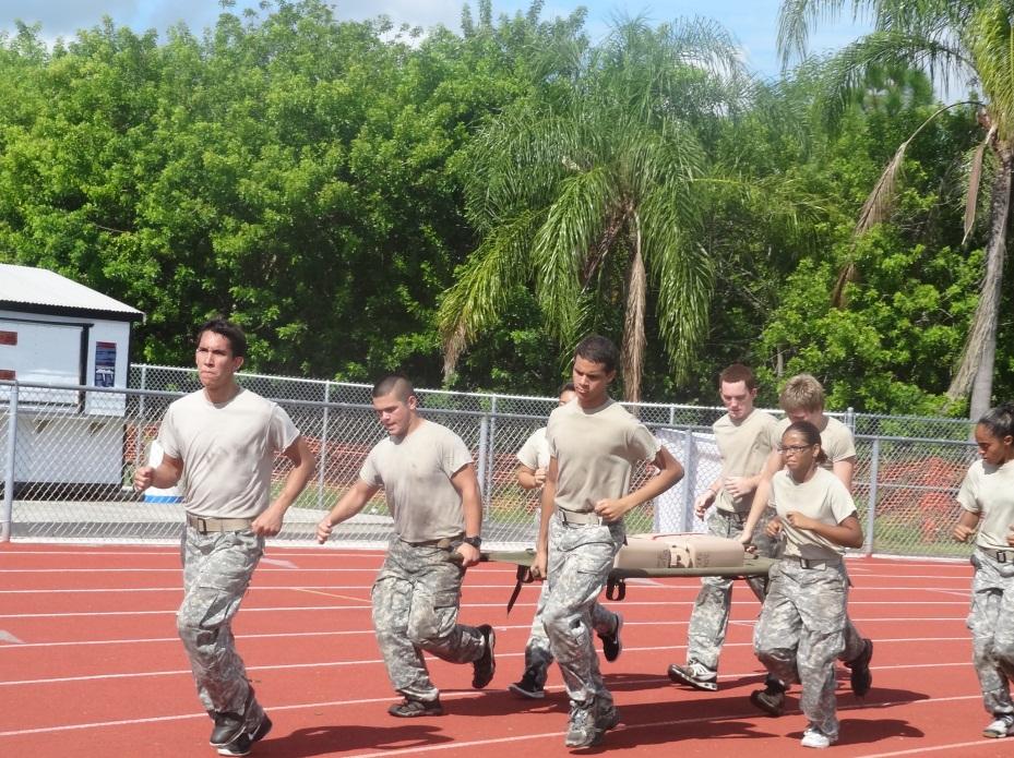 Local schools do well in cadet meet