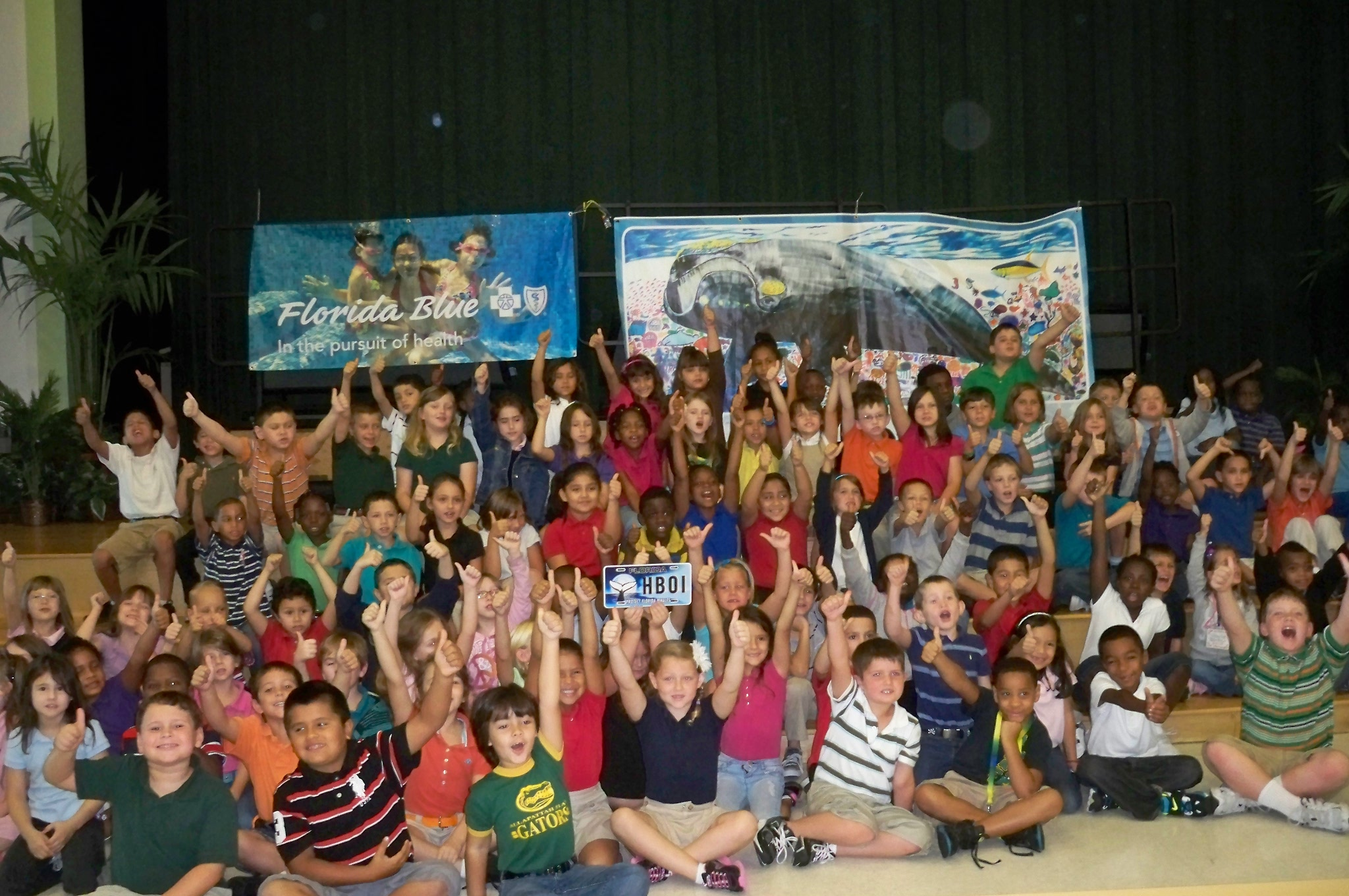 Allapattah Flats students learn about overcoming obstacles through Stella the Whale