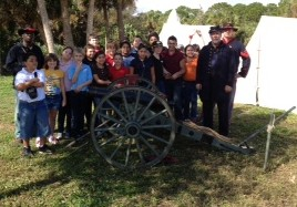 Northport students enjoy annual re-enactment