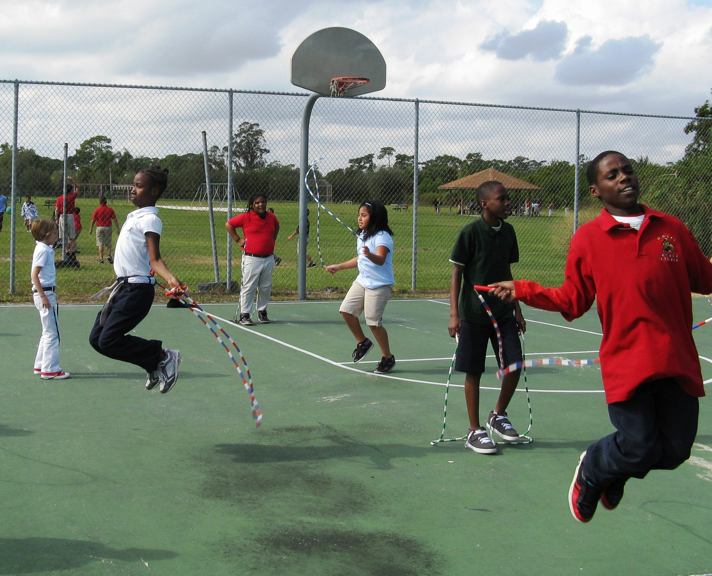Weatherbee Elementary School supports Jump Rope for Heart