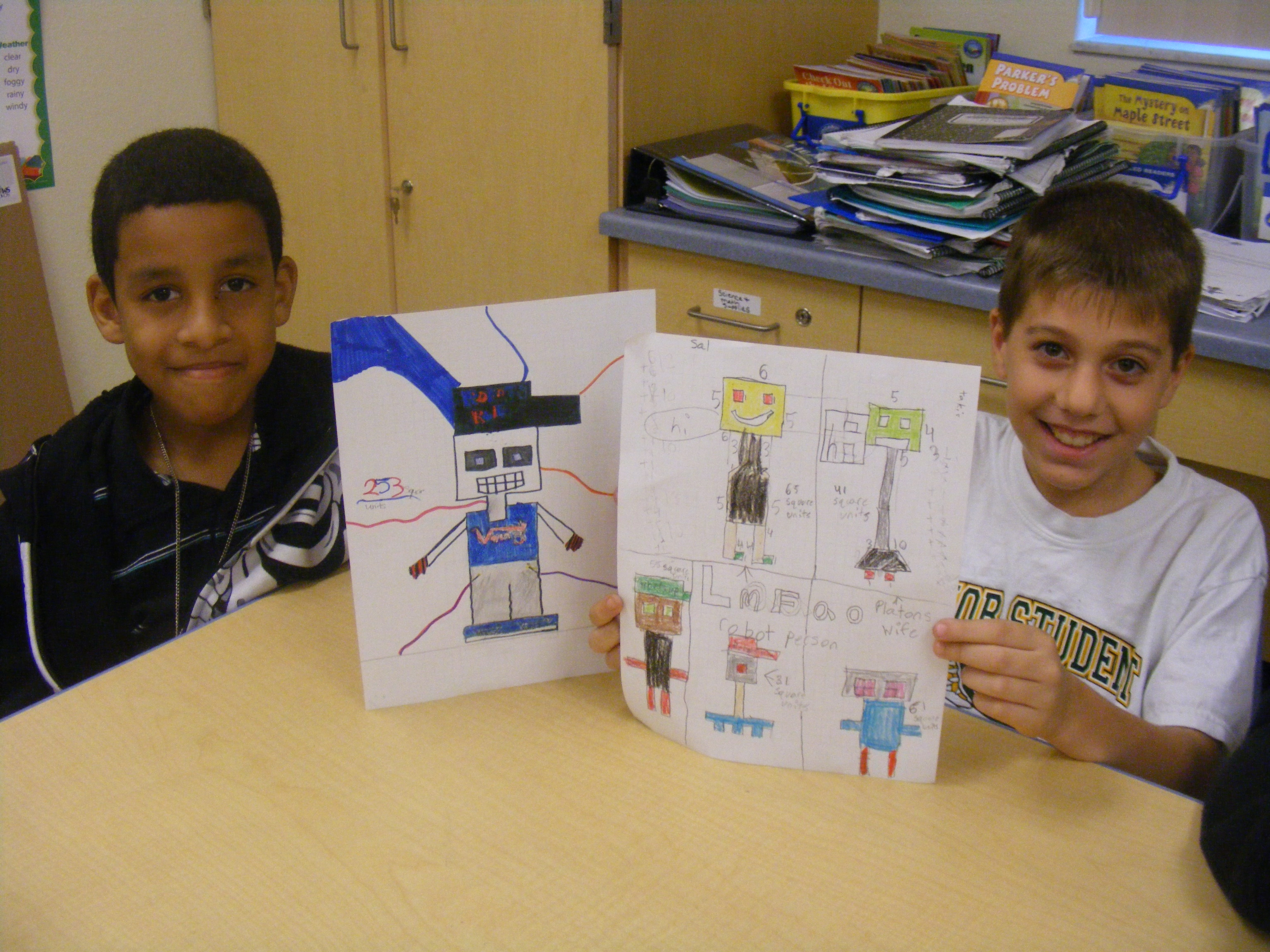 Allapattah Flats students design area robots