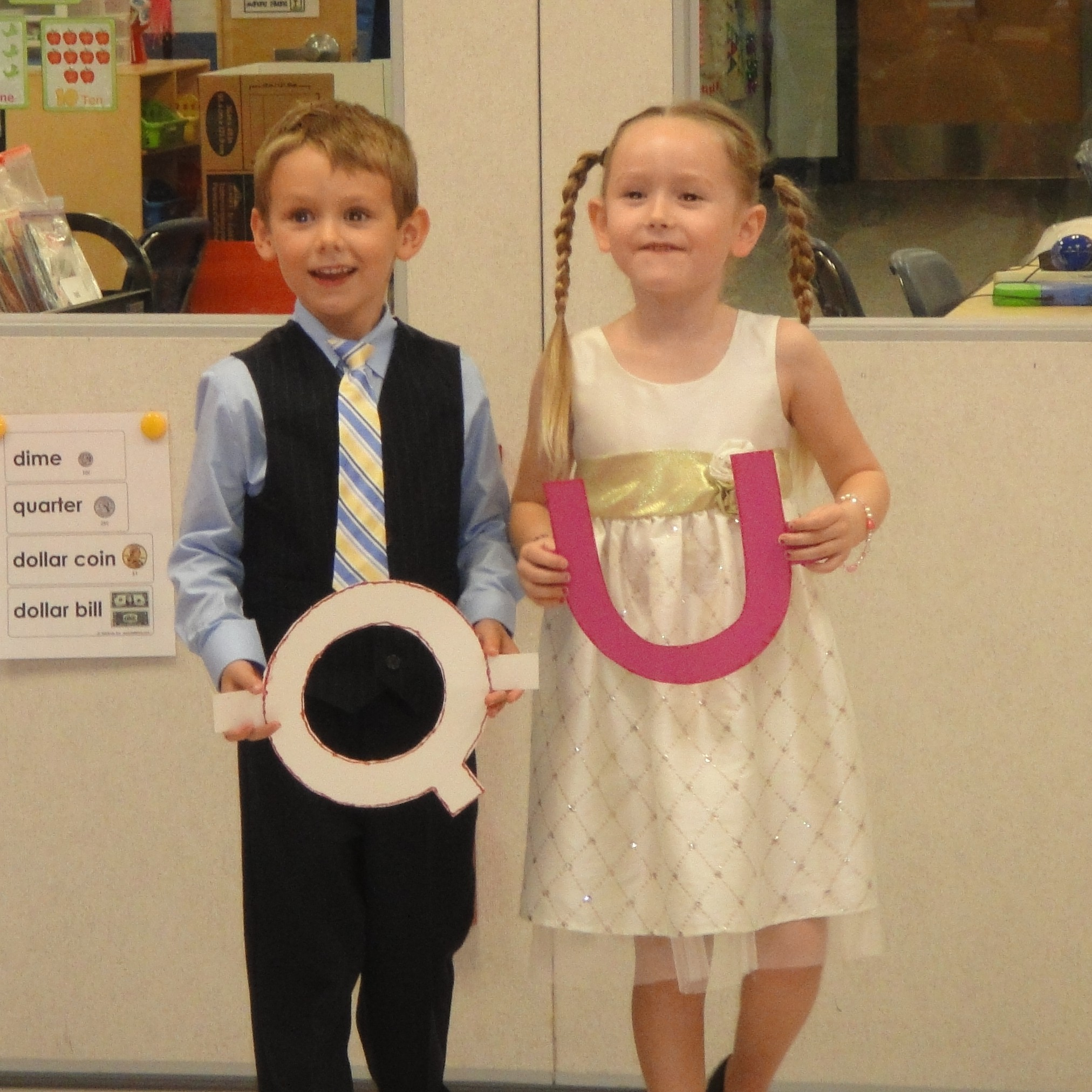 Palm Pointe kindergartners celebrate special wedding