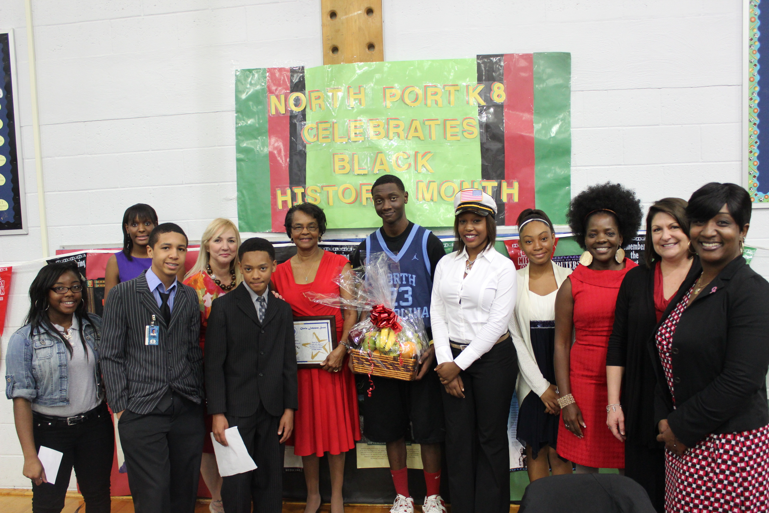 Northport K8 celebrates Black History Month