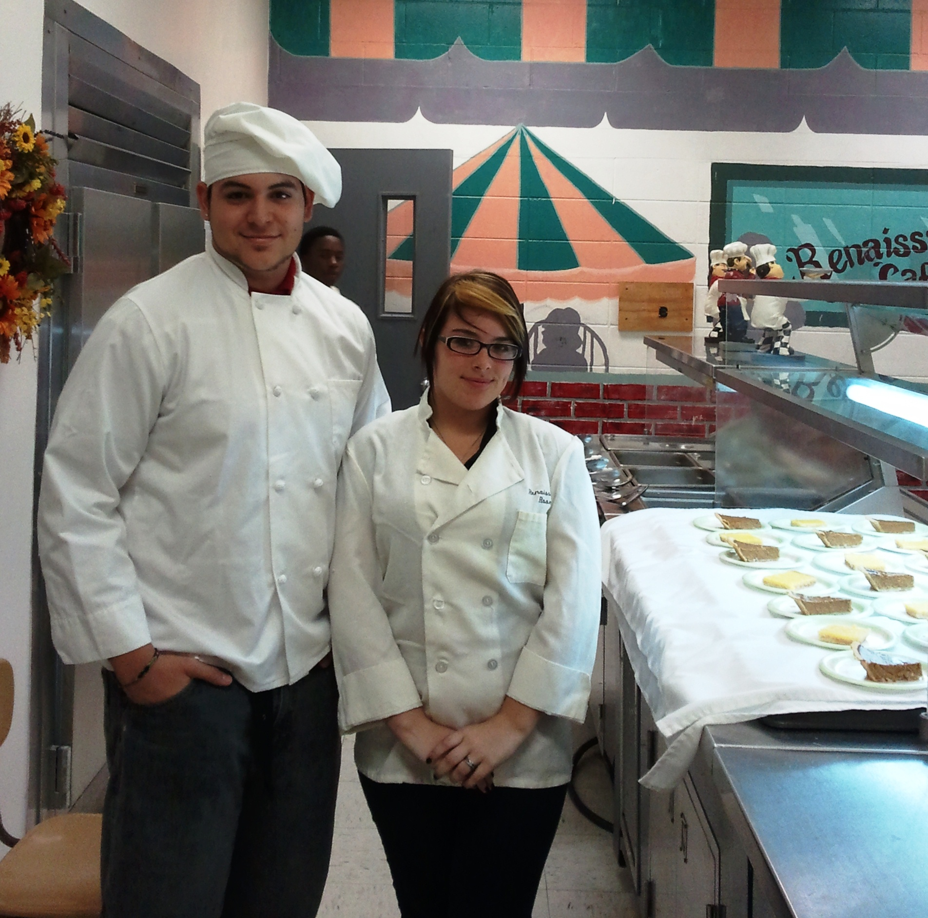 Port St. Lucie High culinary students help in celebration