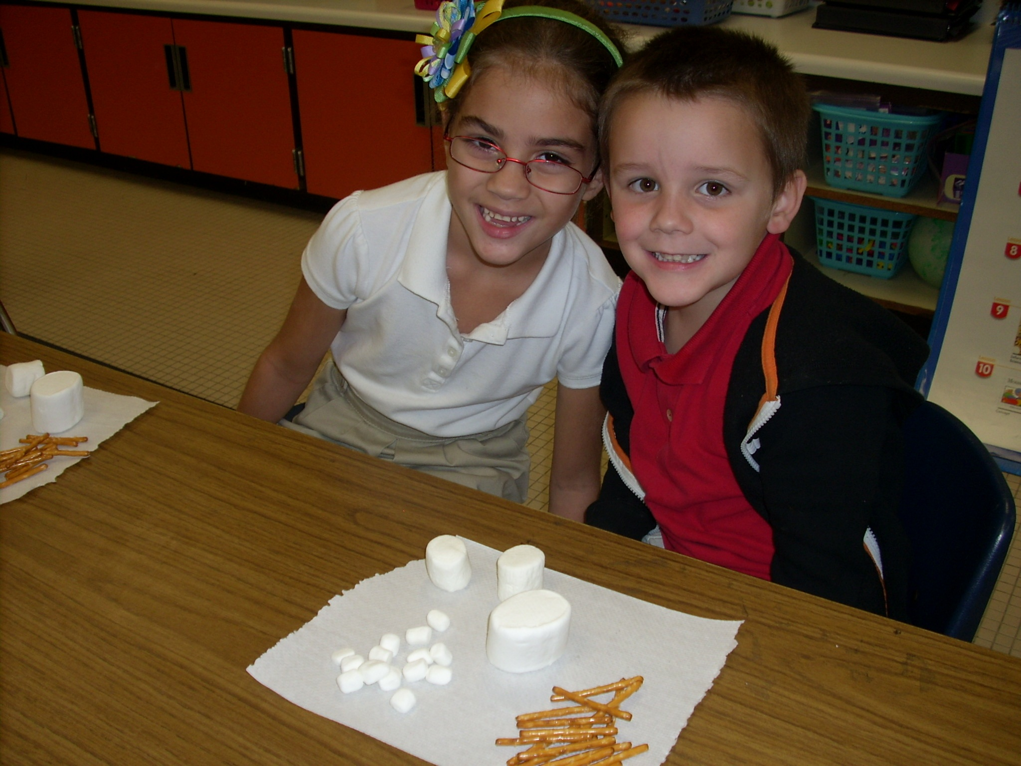 Windmill Point kindergartners explore shapes