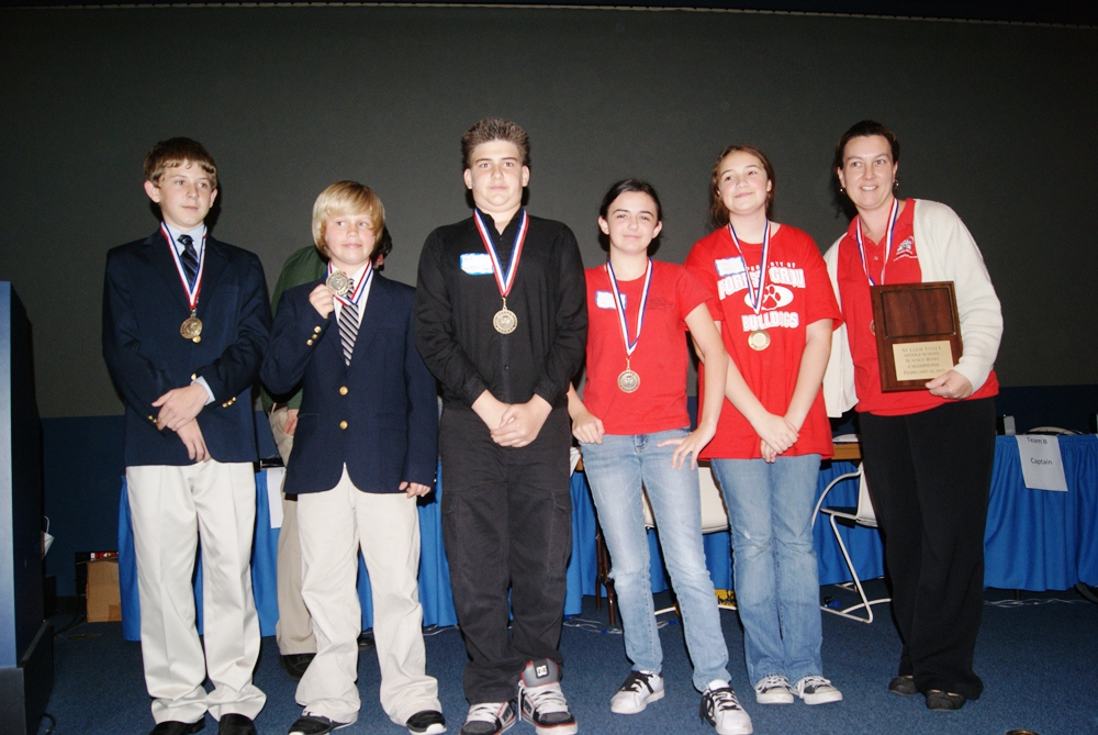 Forest Grove team wins middle school science bowl