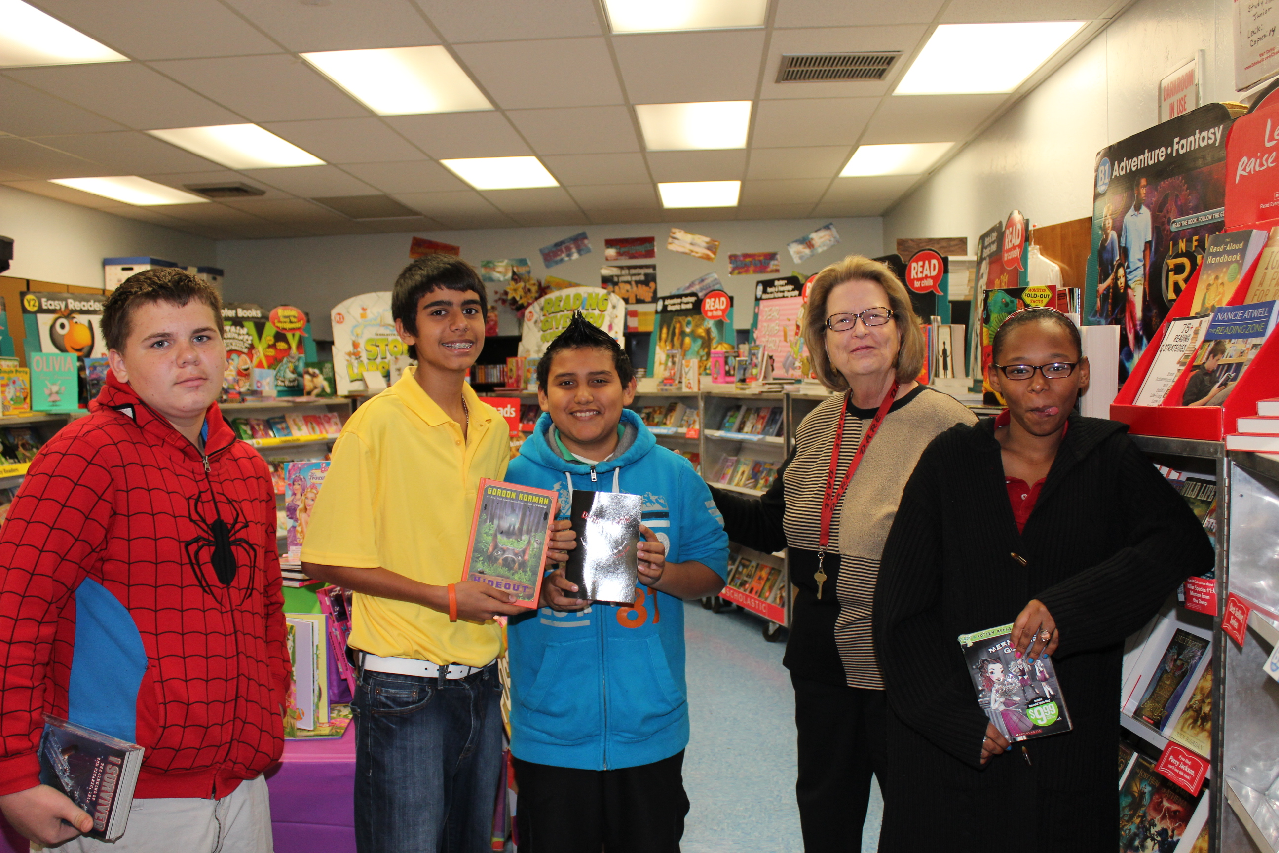 Northport community book fair promotes positive interactions