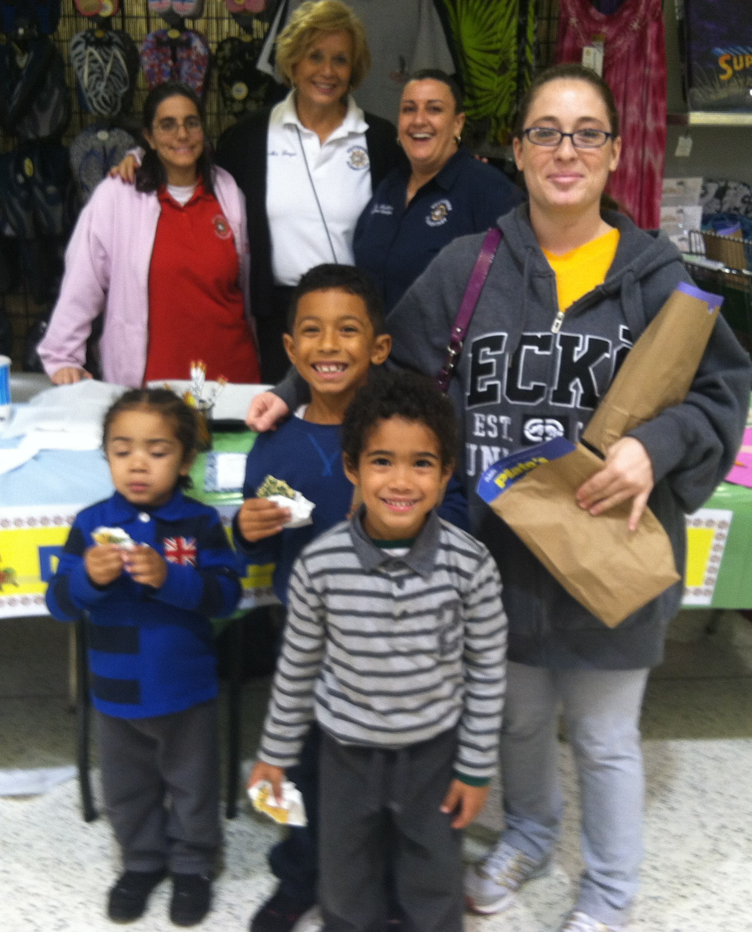 Weatherbee Elementary students and parents enjoy math night