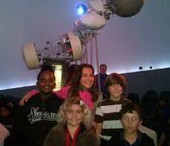 Allapattah Flats third graders visit the planetarium