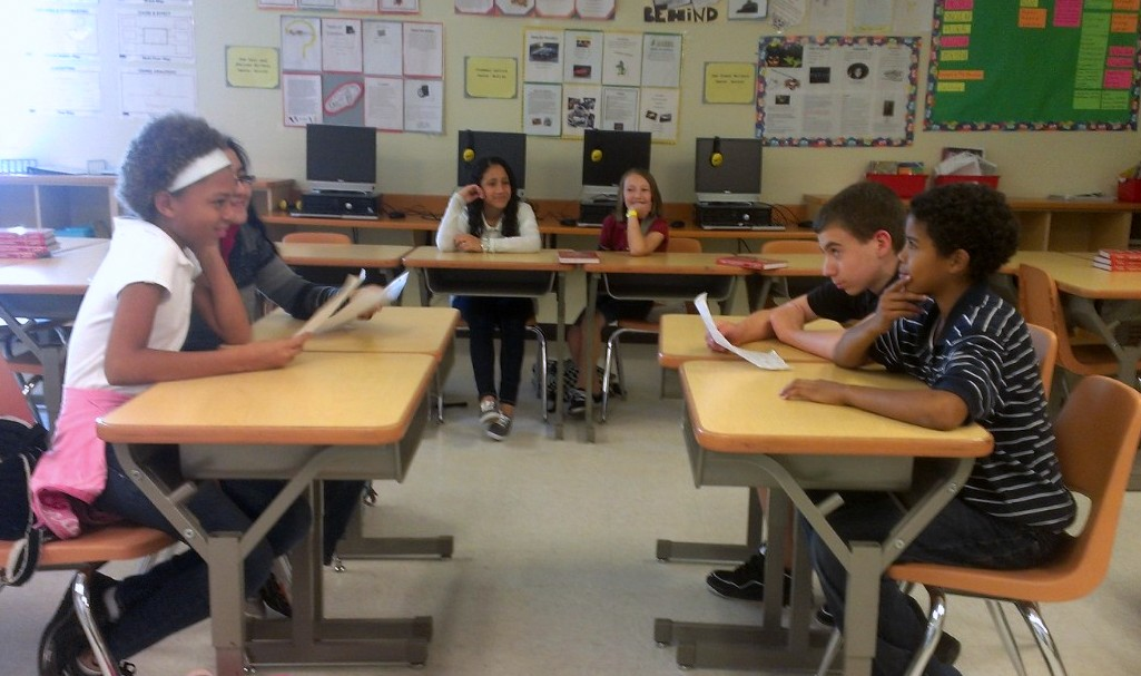 Sixth graders learn the art of debate through writing