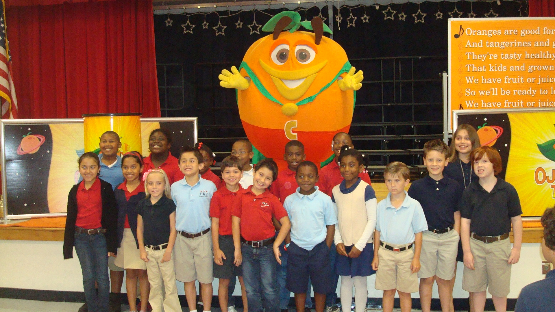 F. K. Sweet second graders enjoy Florida treats