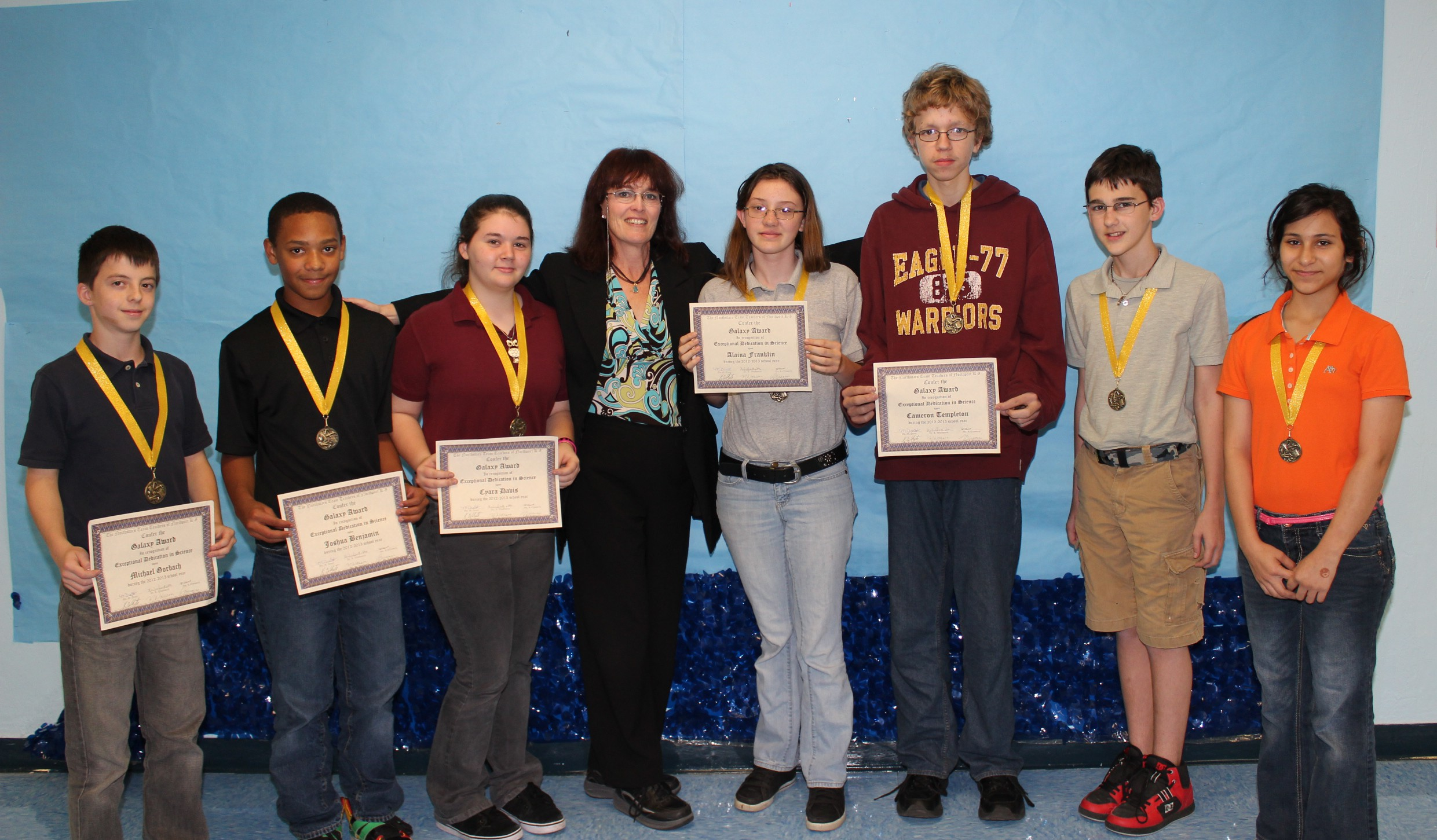Northport K8 science students excel