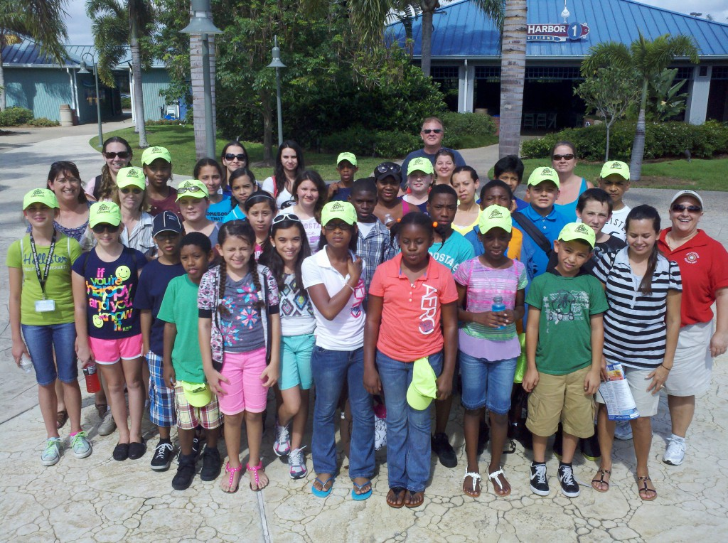 Weatherbee Elementary safety patrol visits Sea World as reward