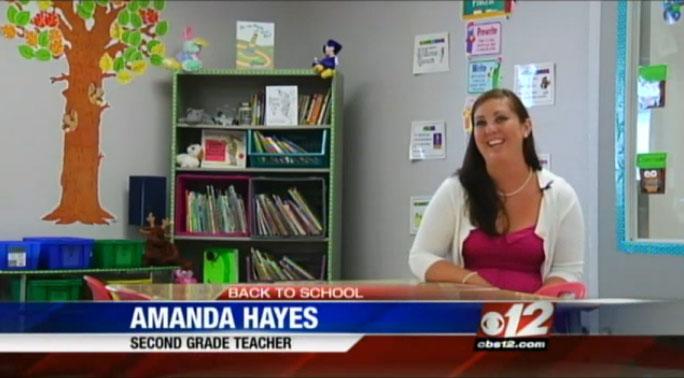 SGA's Amanda Hayes on CBS 12 News