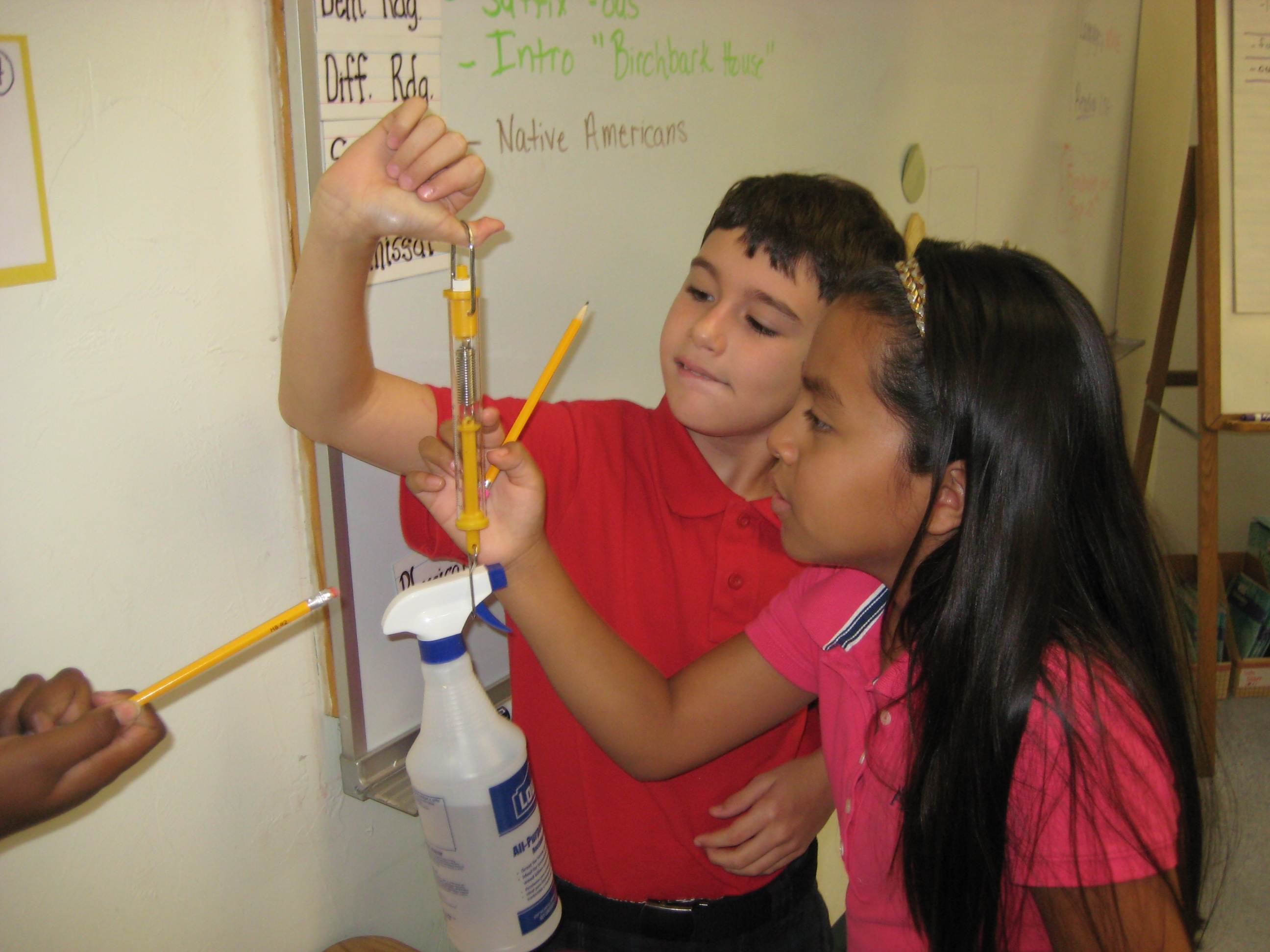 Mariposa Elementary fifth grade students are exploring scientists