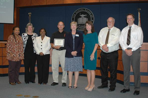 Florida Engineering Society Teacher of the Year