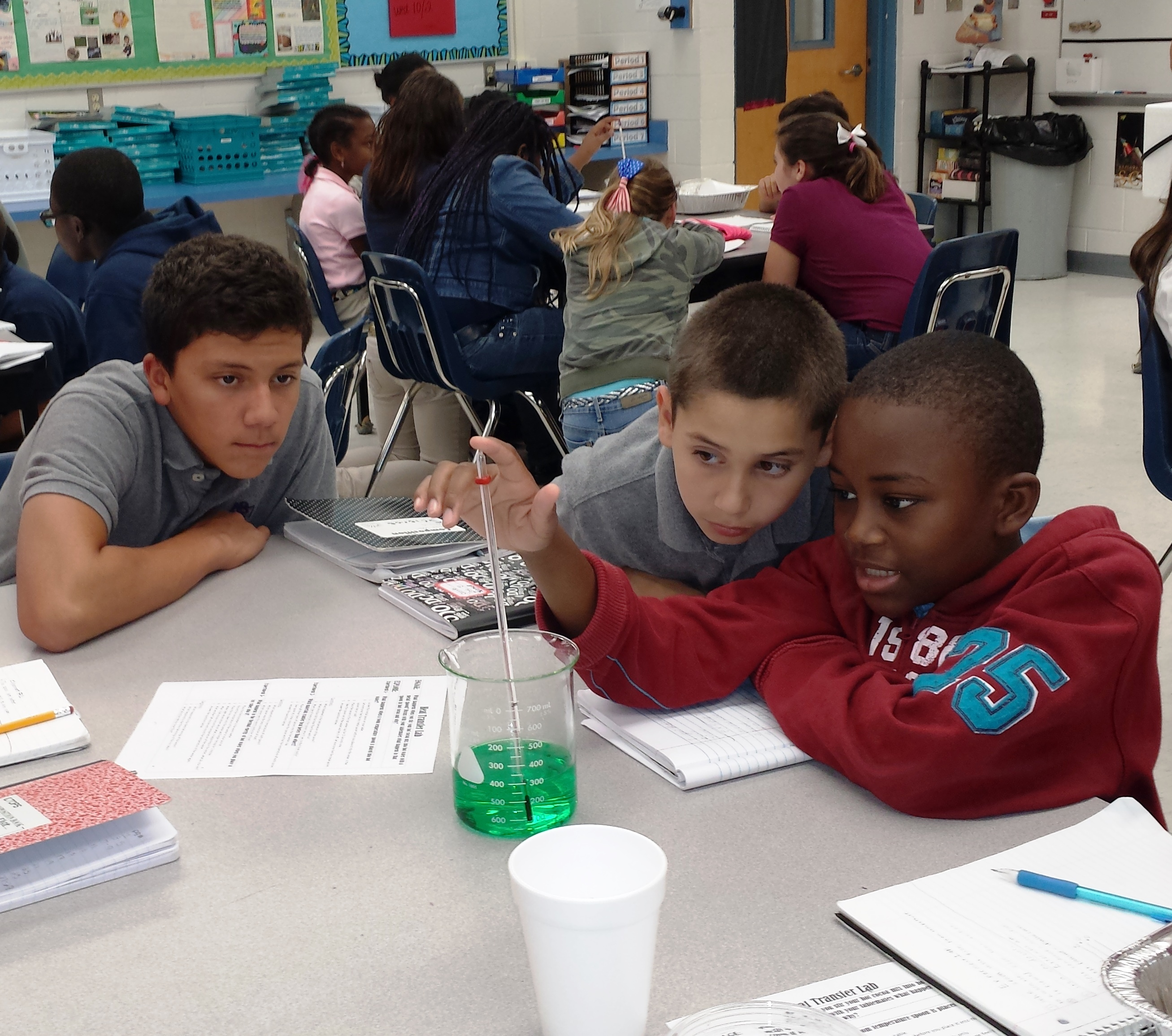 Students buddy up for science at St. Lucie West K8
