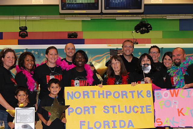 Northport K-8 participates in community event