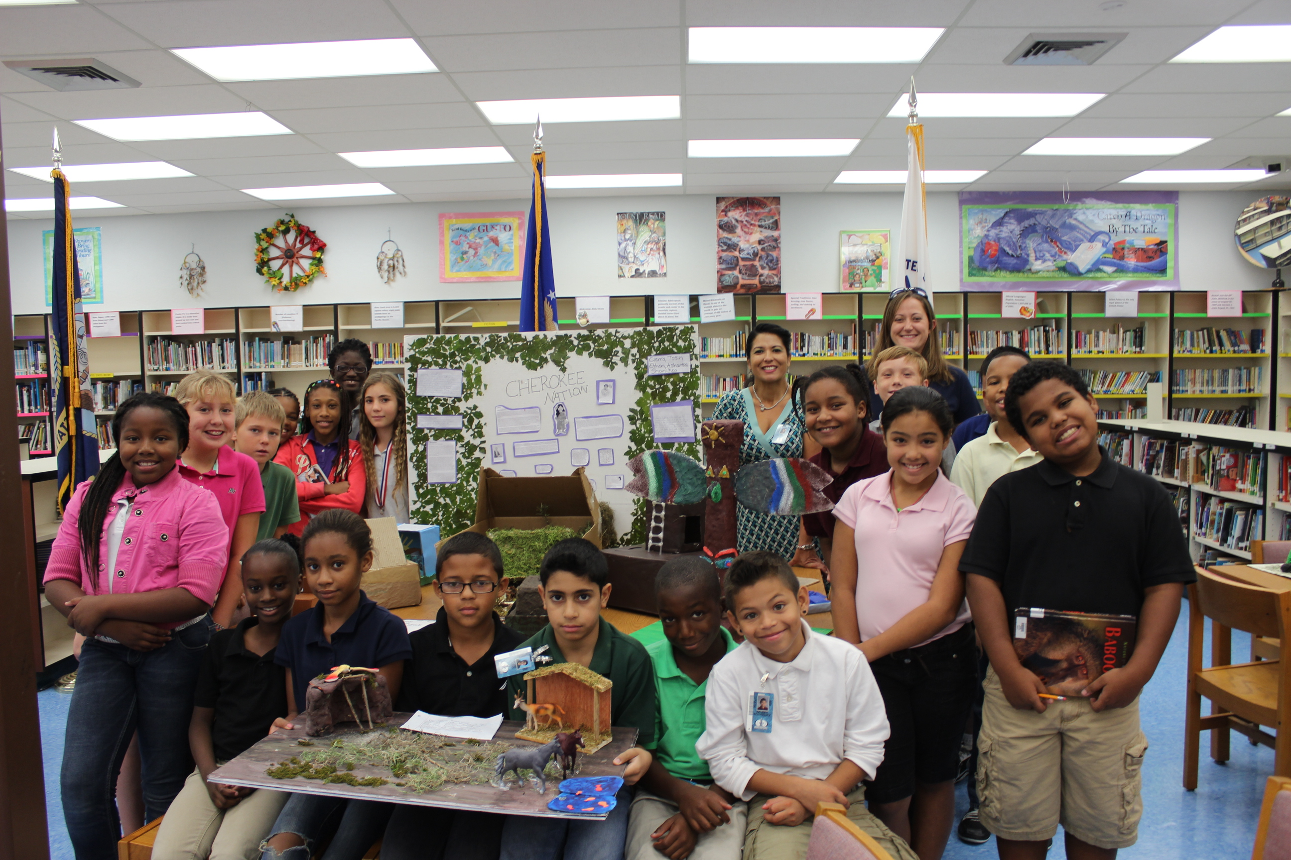 Northport students explore Native American cultures