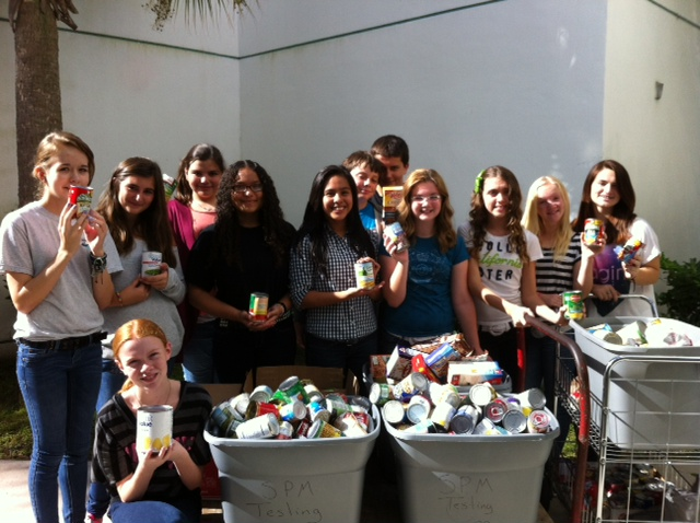 Southport Middle School student group hosts annual food drive