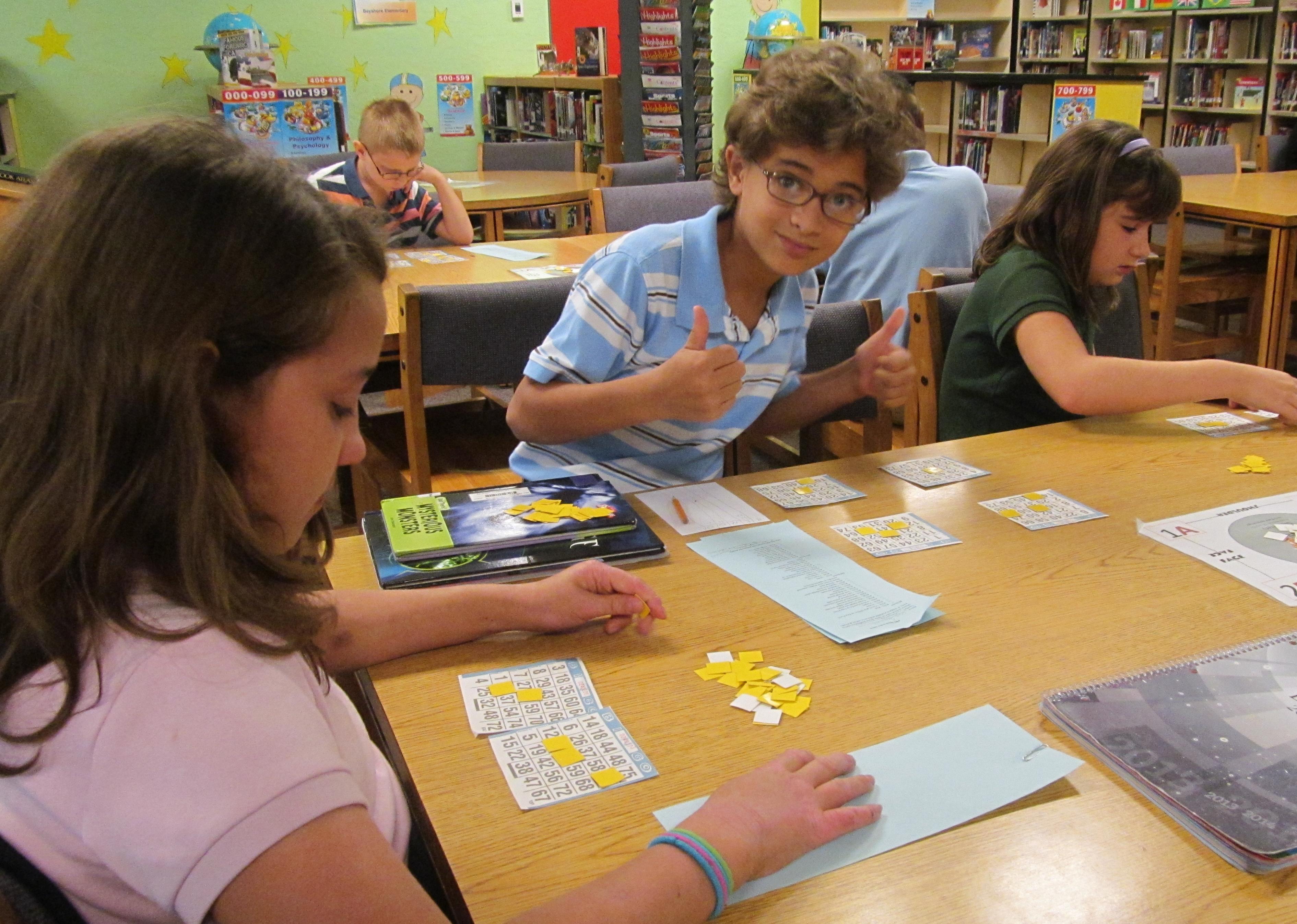 Bayshore Elementary students demonstrate positive behavior