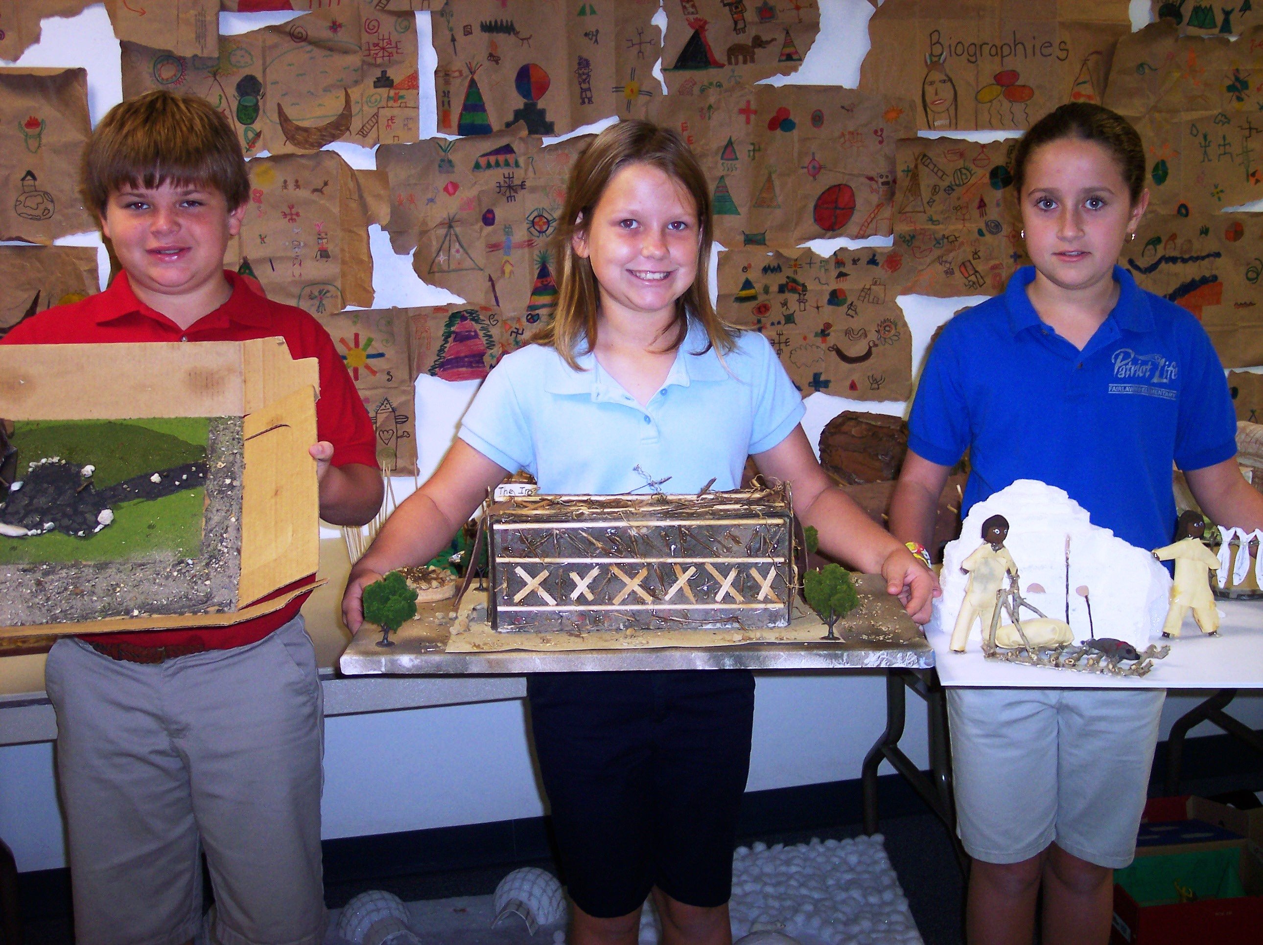 Fairlawn Elementary students learn about Native Americans