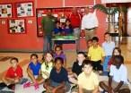 WestGate students build and erupt volcanoes